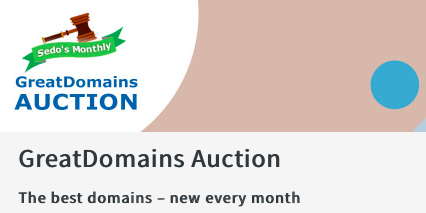Sedo's Great Domains Auction